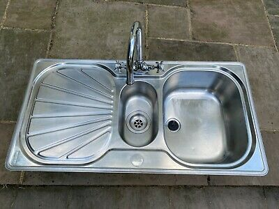 £30 • Buy Franke 1.5 Stainless Steel Kitchen Sink And St James Mixer Tap.