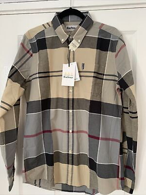 £50 • Buy Bnwt Mens Barbour Sutherland Dress Tartan Size M Tailored Fit Shirt.rrp£70