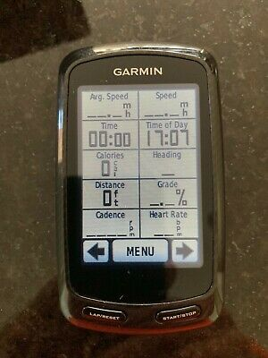 £51.07 • Buy Garmin Edge 800 With Full Europe Maps, Genuine Bumper And Accessories