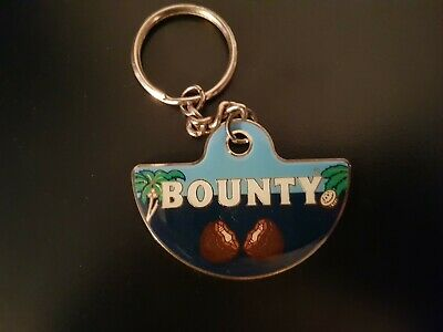 £6.80 • Buy Bounty (Confectionary) Chocolate Advertising Metal Keyring