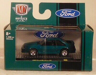 AU23.77 • Buy 2021 M2 Machines Ford  1987 Ford Mustang Gt R56 21-33  Hard To Find