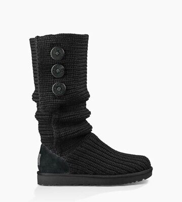 £90 • Buy UGG Classic Cardy Knit Knee Length Boot UK 7.5
