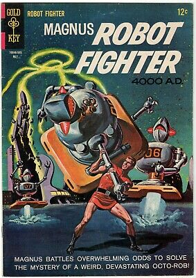 $8.95 • Buy Silver Age Magnus Robot Fighter #10