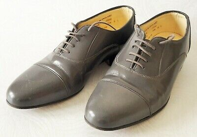 £29.99 • Buy Sanders Grey Lace Up All Leather Shoes – Size Uk 6.5