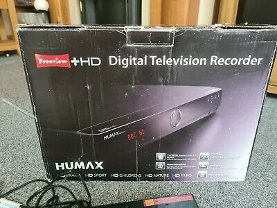 £49 • Buy Humax HDR Fox T2, Terrestrial Aerial Freeview  + HD Recorder,, 500gb, Boxed