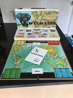 £19.99 • Buy Wild Life Vintage Board Game WWF By Spears In VGC & Complete. Rare