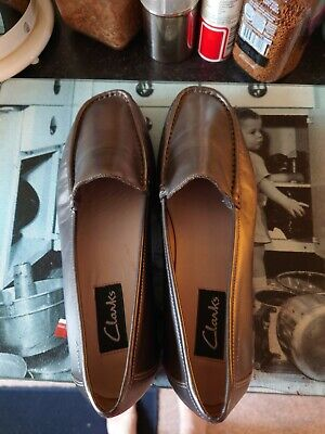 £12 • Buy Clarks Ladies Shoes Size 8 New Like A Grey Bronze Pewter No Box