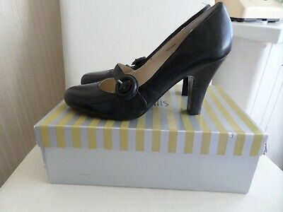 £10.99 • Buy Wallis Black Leather Shoes Size 6 Shoes New Was £40