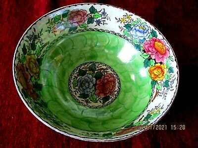 £12.99 • Buy Vintage Maling   Peony Rose Lustre Bowl No. 6561. Lovely Condition.