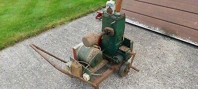 £120 • Buy Lister D With Generator Dynamo Stationary Engine