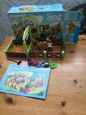 £7 • Buy Playmobil DreamWorks Spirit 9478 Lucky And Spirit With Horse Stall
