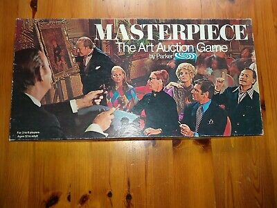 £24.99 • Buy Vintage 1970 Masterpiece - The Art Auction Game By Parker 100% Complete