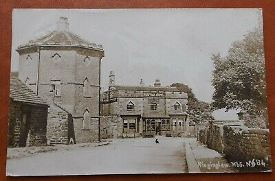 £15 • Buy The Norfolk Arms Ringinglow Sheffield Real Photo Postcard 1907 Yorkshire