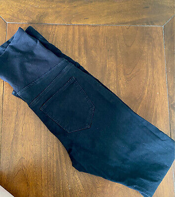 £2.50 • Buy Over The Bump Black Skinny Maternity Jeans Size 10