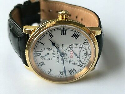 £8750 • Buy ULYSSE NARDIN MARINE CHRONOMETER 18K GOLD 150TH ANNIVERSARY With Full Papers