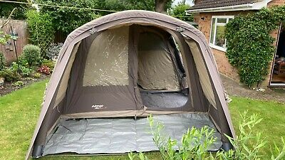 £550 • Buy Vango Solace 400 TC Poly Cotton 4 Berth AirBeam Includes Carpet And Footprint