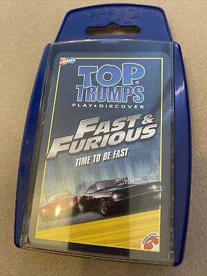 £1.50 • Buy Fast And Furious Top Trump Card Game Brand New
