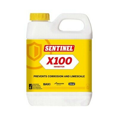 £7.75 • Buy Sentinel X100 Central Heating Scale Inhibitor - 1 Litre
