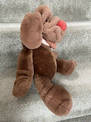 £9.99 • Buy Vintage 1981 Wrinkles Dog Hand Puppet Plush Stuffed Toy Brown Ganzbros