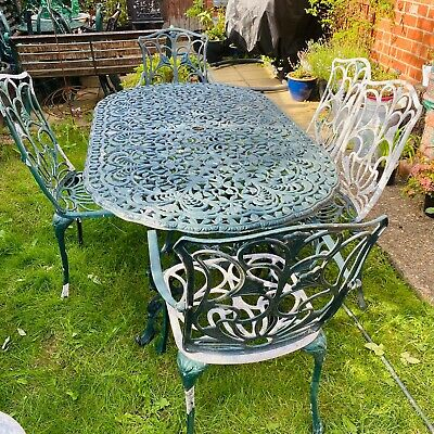 £399 • Buy Cast Aluminium Garden Table And Chairs