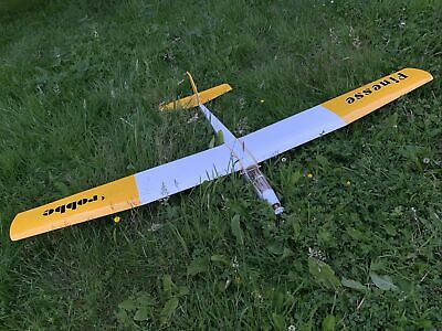 """£70 • Buy Robbe Finesse Powered RC Glider Aircraft Aeroplane 72"""" Wing Span"""