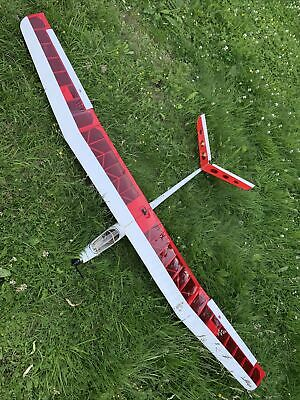 """£70 • Buy RC Powered V Tail Glider Aeroplane Aircraft 78"""" Wing Span Remote Control Plane"""