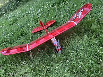 """£35 • Buy Bloody Mary Vintage Style RC Plane 38"""" Span Electric Aeroplane Plane Aircraft"""