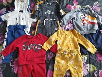 £2.50 • Buy  Baby Boy 6-9 Months  Tracksuit Outfits Bundle