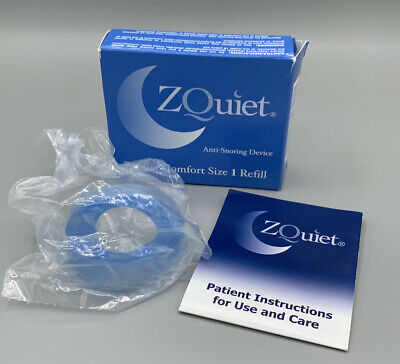 AU54.04 • Buy ZQUIET Original Anti-Snoring Mouthpiece Solution, Comfort Size #1 Refill ONLY