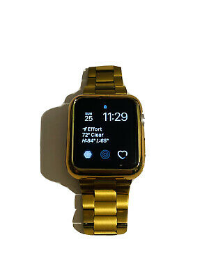 $ CDN188.83 • Buy Apple Watch Series 2 42mm Gold Plated Stainless Steel, Watch Tool.