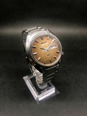$ CDN435.10 • Buy Seiko 5 Actus Vintage Day Date SS Rare Automatic Mens Watch Authentic Working