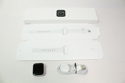 $ CDN245.15 • Buy Apple Watch SE (GPS, 40mm) - Silver Aluminum Case With White Sport Band