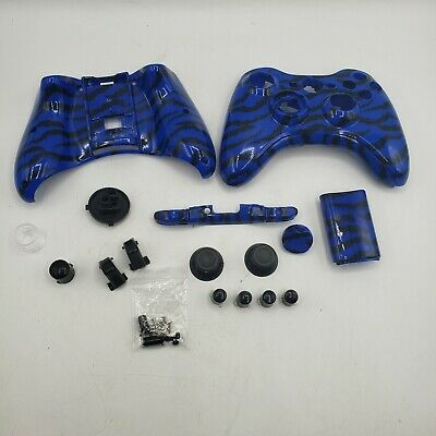 £7.26 • Buy XBOX 360 Controller Case Shell Set Blue Tiger For Wireless Controller