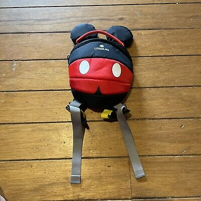£4.99 • Buy Little Life Backpack With Handle And Reins LiffleLife Mickey Mouse
