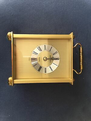 £10 • Buy President Brass Quartz Carriage Clock, With A German Movement.