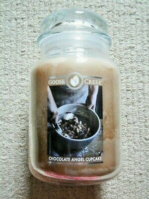 £16.99 • Buy Goose Creek Candle Co 24oz Large Scented Jar Candle CHOCOLATE ANGEL CUPCAKE