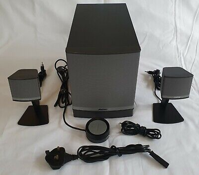 £90 • Buy Bose Companion 3 Series 2 (II) Multi-Media Speaker System, Complete And Working