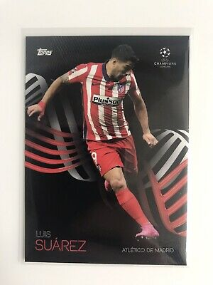 £2.49 • Buy Topps UCL Knockout 2020/21 Athletico Madrid Luis Suarez