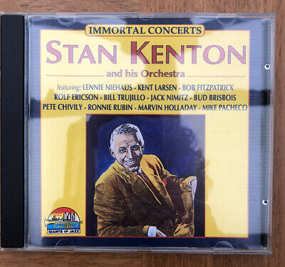 £3 • Buy Stan Kenton And His Orchestra Immortal Concerts CD