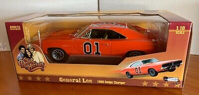£185.04 • Buy Silver Screen. General Lee 1969 Dodge Charger 1:18