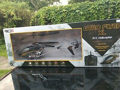 £1.98 • Buy Gyro Flyer XL R/C Helicopter Super Stable Metal Body