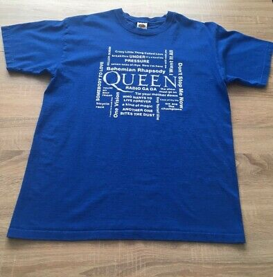£2.50 • Buy Mens Queen Hits T-Shirt - Size M