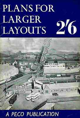£4.99 • Buy Plans For Larger Layouts - Scarce 1st Edition Oct 1960 - C. J. Freezer - Peco