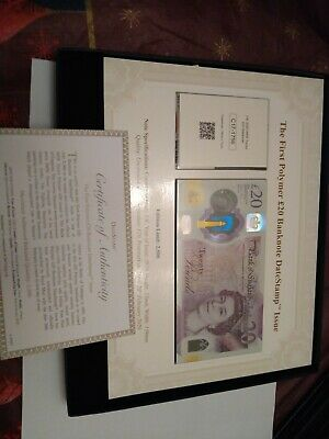 £20 • Buy First Polymer Twenty Pound Note And Stamp Cover