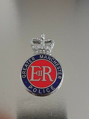 £8.70 • Buy Obsolete Greater Manchester Police Hat Badge