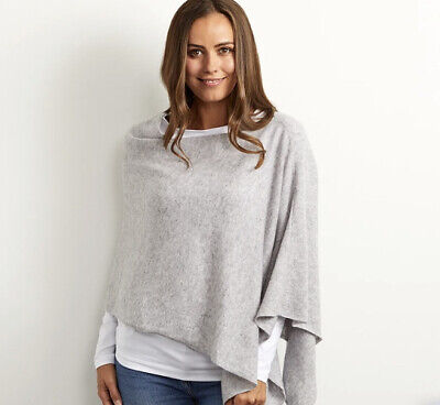 £6 • Buy The White Company Cashmere Blend Poncho Size M