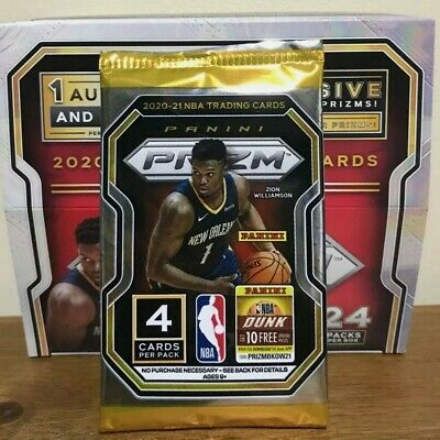AU23 • Buy 2020-21 Panini Prizm NBA Basketball Cards, SEALED, Retail Pack, IN STOCK!