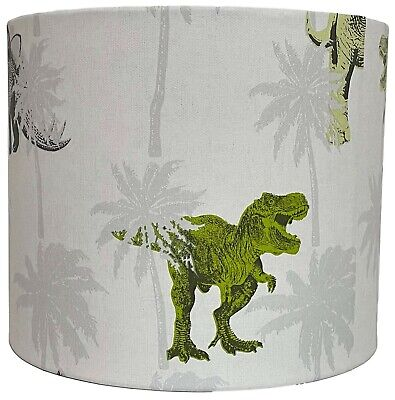 £26.99 • Buy Dinosaur Lampshade Ceiling Light Shade Kids Boys Girls Bedroom Accessories Gifts