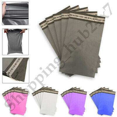 £3.95 • Buy Coloured Postal Mailing Bags Postage Coloured Plastic Packaging Parcel Shipping