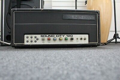 £57 • Buy Sound City 120 Amplifier - Powers Up, Either Needs Maintenance Or For Parts